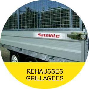 Rehausses grillagées
